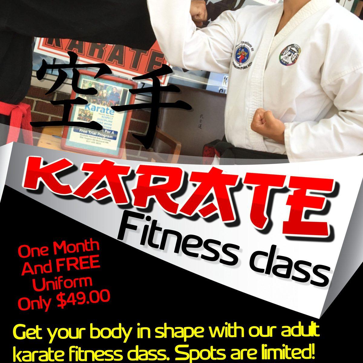 Karate Fitness waltham ma